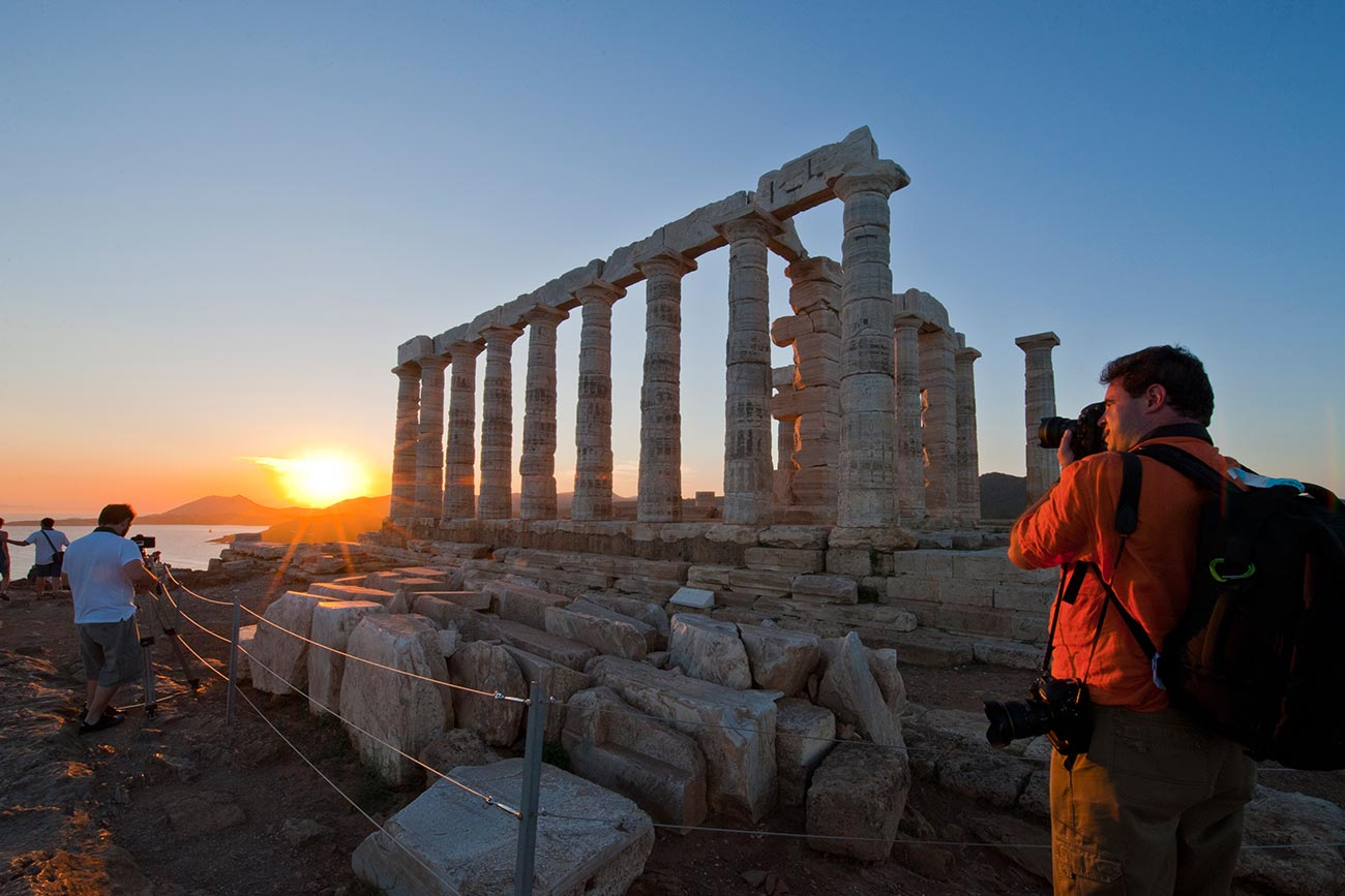 Sounio. ©Greek National Tourism Organization. Photo by Y Skoulas.