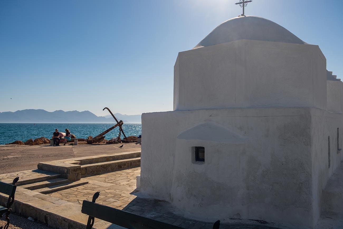 Aegina. Saint Nicholas chapel.