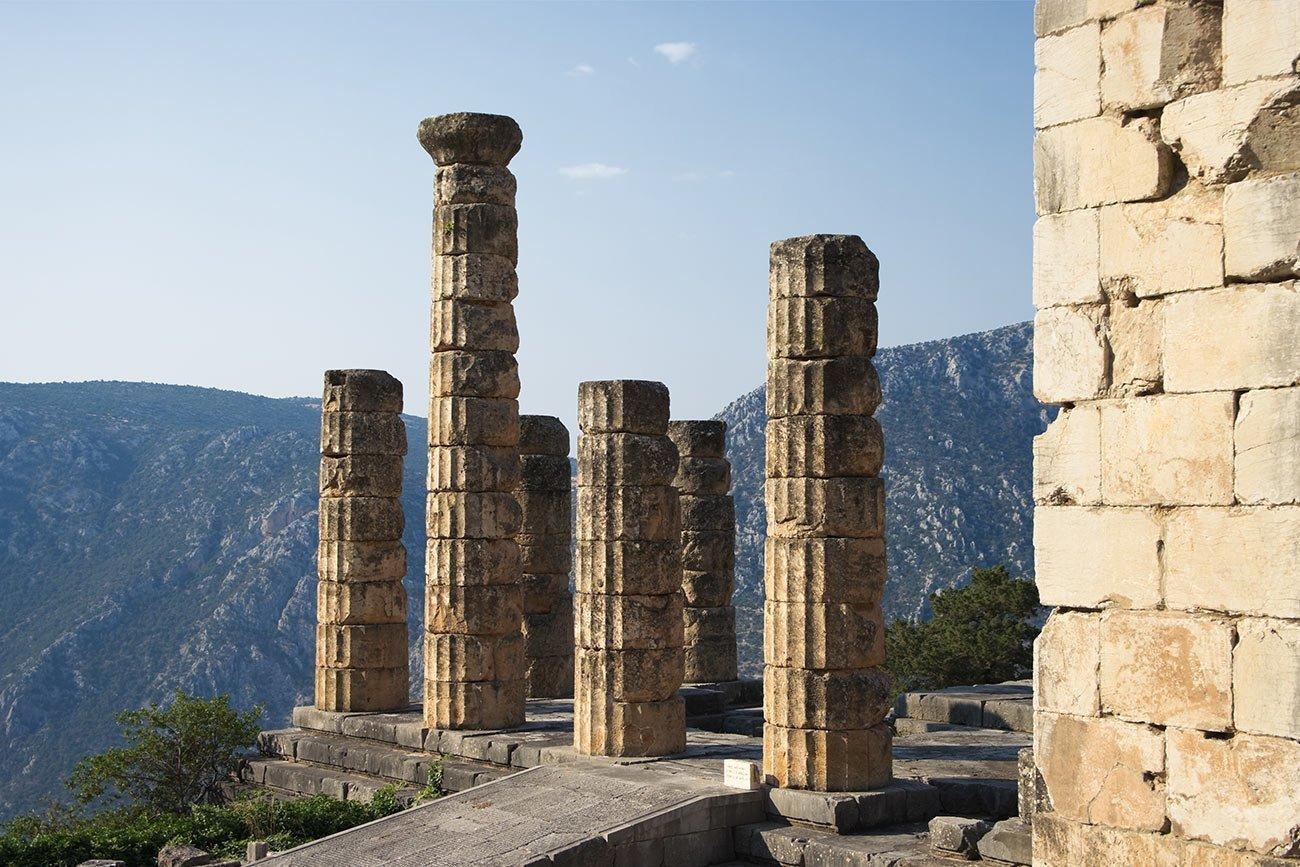 Delfi Apollo temple