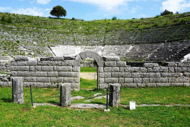 Dodoni. The ancient theater.