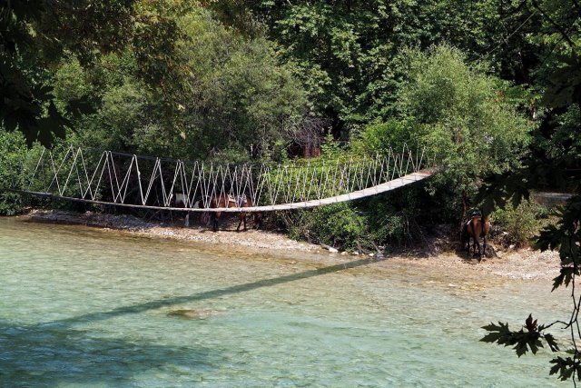 Epirus. Aherontas river.