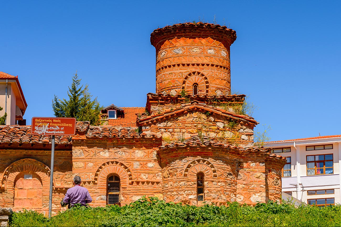 Kastoria. Panagia Koumbelidiki byzantine church.