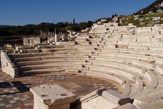 Messini ancient stadium