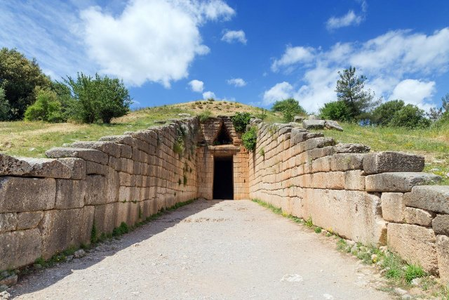 Mycenae.Tomb of Agamemnon.