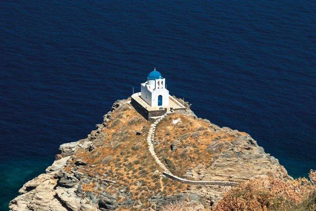 Sifnos. Seven Martyrs chapel.