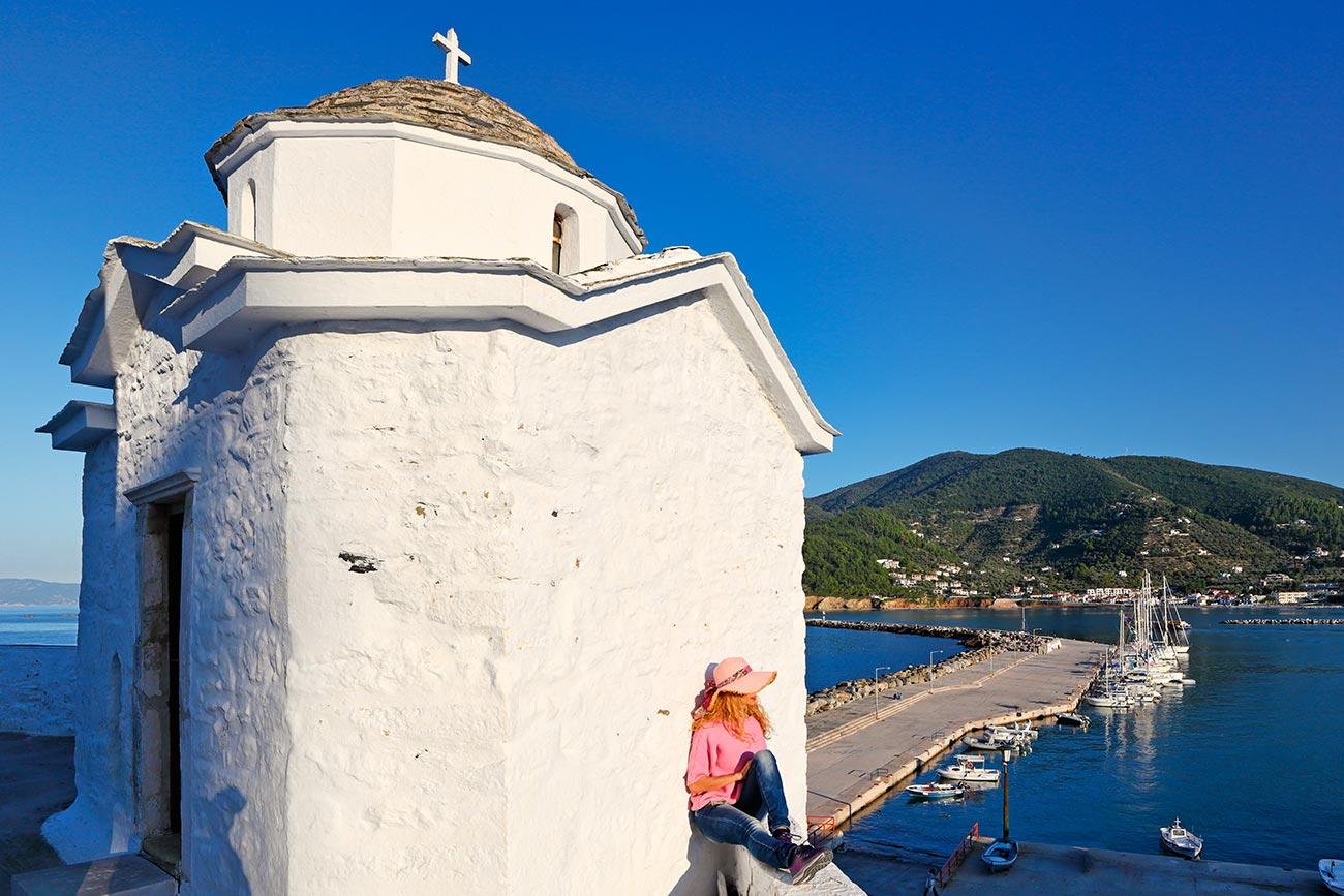 Skopelos. Panagitsa chapel.