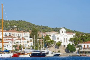 Spetses. Old harbour.