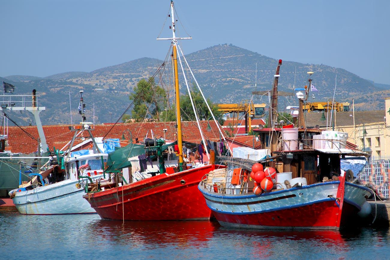 Volos fishing boats