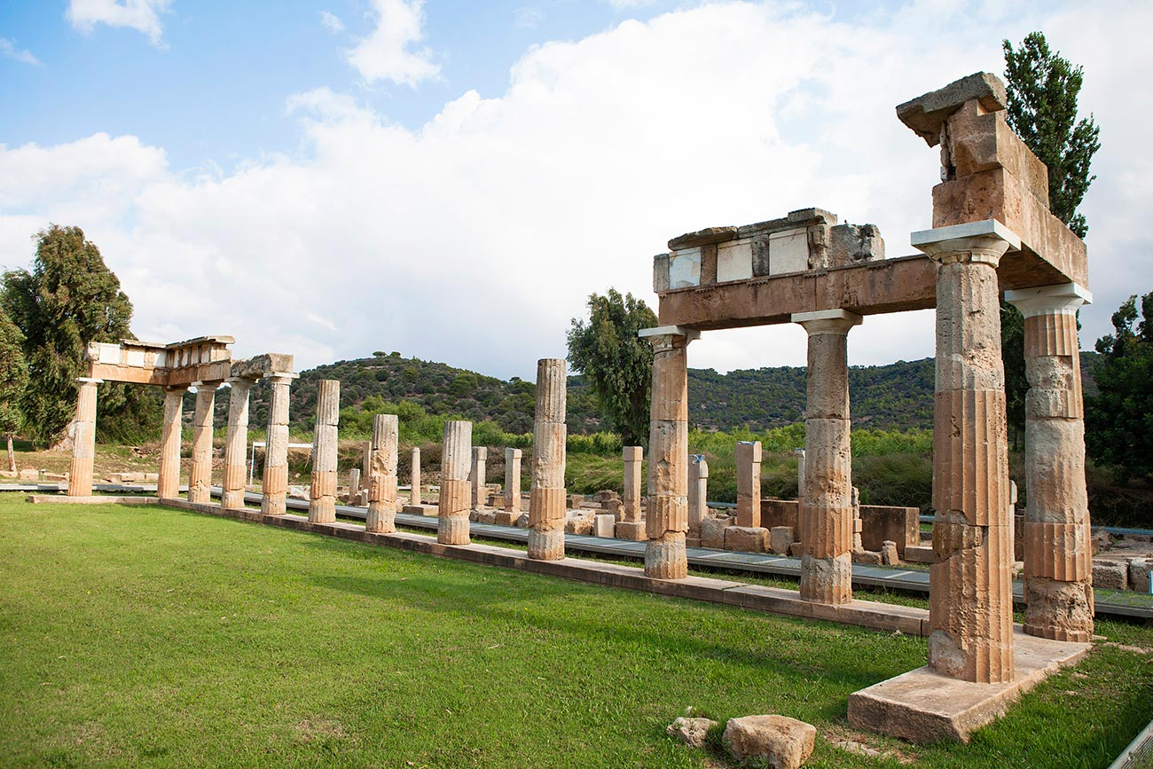 Vravrona. Temple of Artemis.