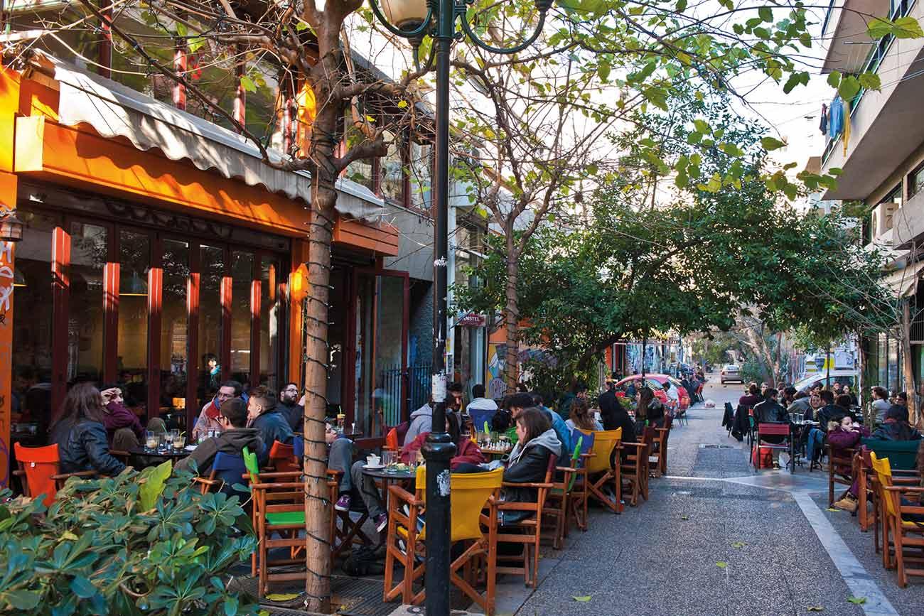Athens Exarcheia ©Greek National Tourism Organization Photo by YSkoulas.